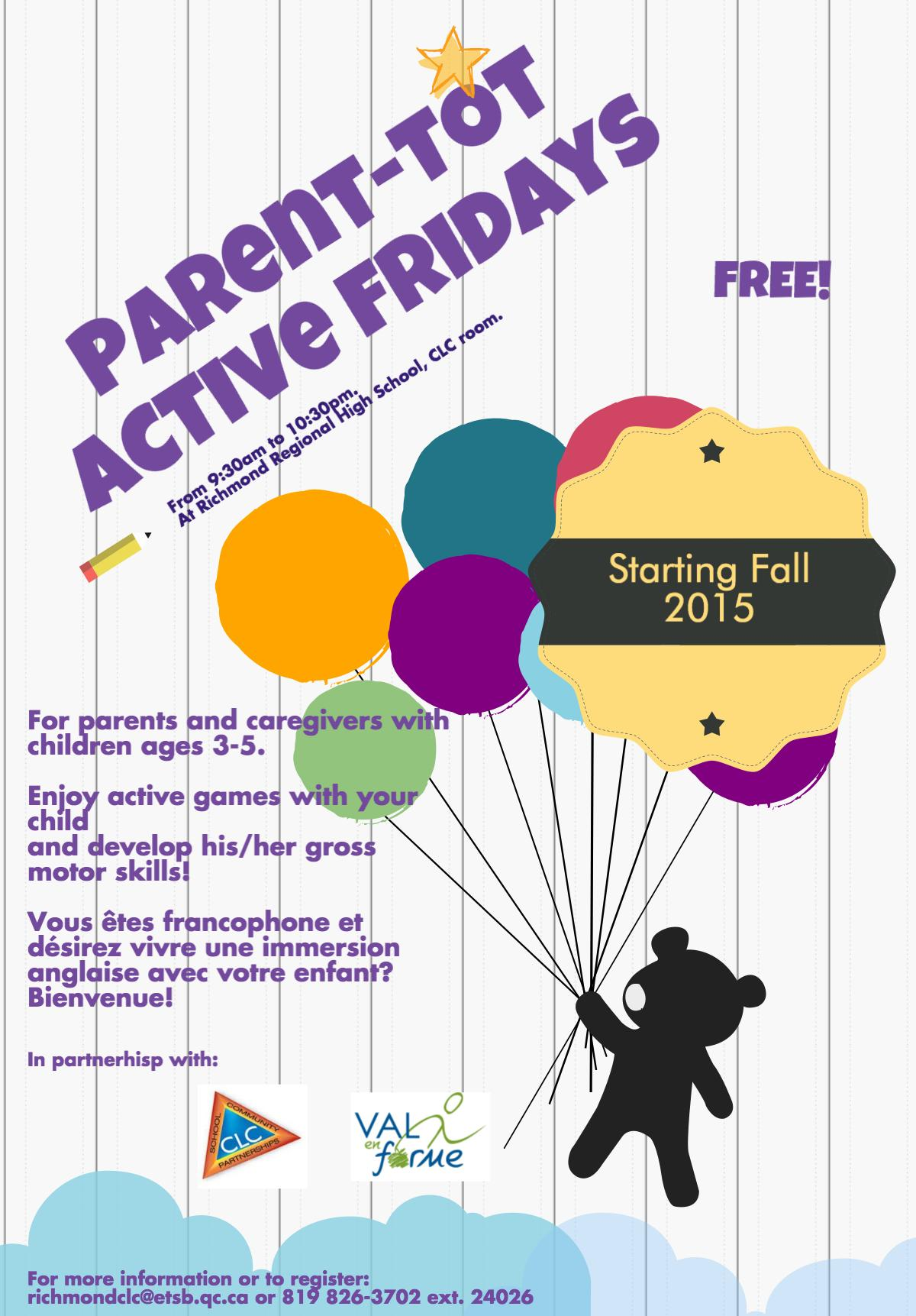 CLC Parent-tot Fall2015
